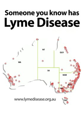 TMLP2015 - Someone you know has Lyme Disease (coloured shirt)