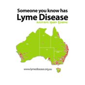 TMLP2015 - Someone you know has Lyme Disease (white shirts)