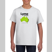 Youth Unisex T Shirt TMLP2015 - Lyme lives here