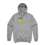 Unisex Stencil Boutique Hoody by 'As Colour ' - TLMP2015 - Someone you know has Lyme disease
